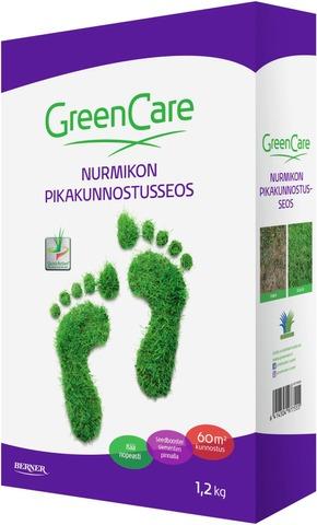 GreenCare 1,2kg nurmikon pikakunnostusseos