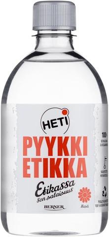 Heti 500Ml Pyykkietikka Mieto Silkki