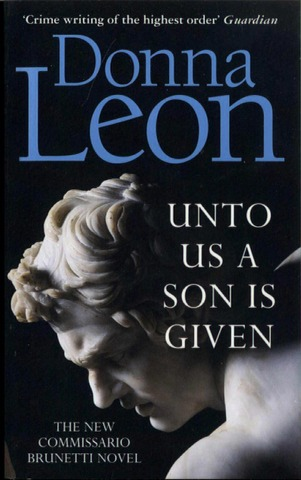 Leon, Donna: Unto Us a Son Is Given pokkari