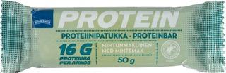 Mintunmakuinen Proteiinipatukka Tumman Suklaan Makuisella Kuorrutteella