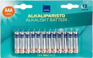 Alkaliparisto.