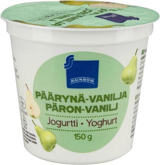 Rainbow 150 G Päärynä-Vanilja Jogurtti