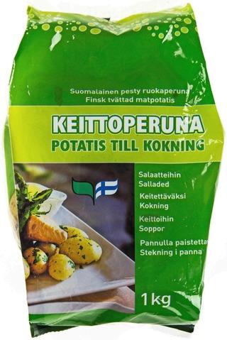 Keittoperuna 1Kg Pesty Ruokaperuna Suomalainen