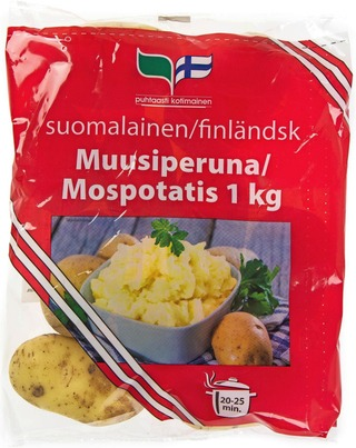 Muusiperuna 1Kg Pussi Suomalainen