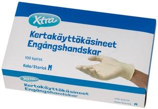 Xtra Kertakäyttökäsineet M 100Kpl