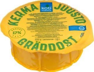 Kotimaista Kermajuusto 17 % 450 G