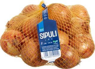 Kotimaista 1kg suomalainen sipuli