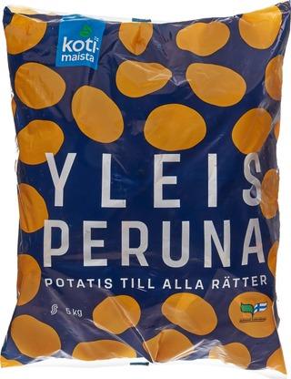 Kotimaista 5kg suomalainen yleisperuna