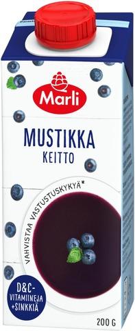Marli Mustikkakeitto +D&C-Vitamiinit, Sinkki 200G