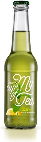 My Cup Of Tea Sparkling Mate Tea Citrus & Lemon Balm 275 Ml