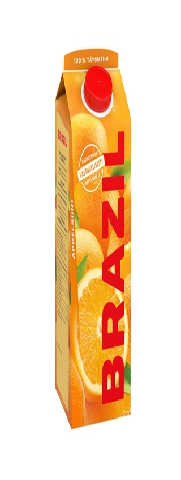 Brazil appelsiinitäysmehu 100% 1L