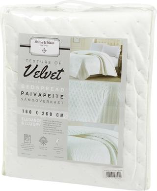 Home & Main Päiväpeite Velvet 160X260 Cm