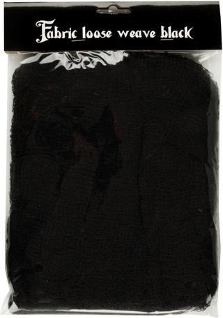 Halloween kangasverkko musta