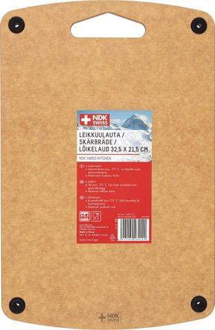 Ndk Swiss Leikkuulauta 33 X 22 Cm Puukuitu