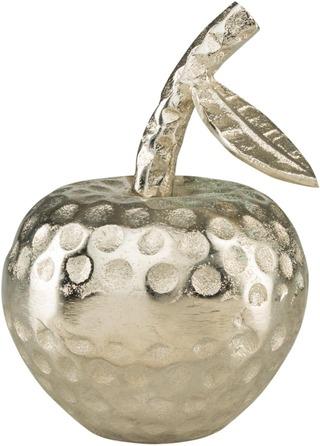 Pöytäkoriste Omena Metallia Pieni Vaalea