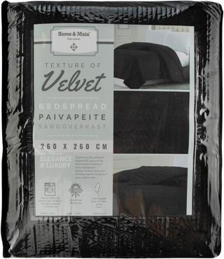 Home&Main Päiväpeite Velvet 260X260cm