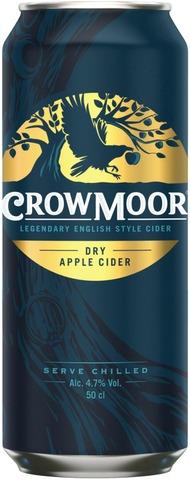 Crowmoor Dry Apple 4,7% tölkki siideri 0,5 L