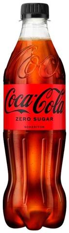 Coca-Cola Zero Sugar Virvoitusjuoma Muovipullo 0,5 L