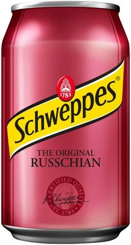 Schweppes Russchian virvoitusjuoma tölkki 0,33 L