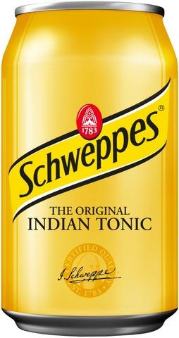 Schweppes Indian Tonic Virvoitusjuoma Tölkki 0,33 L