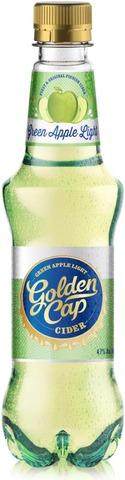 Golden Cap Green Apple Light Cider 45Cl  4,7% Kertamuovipullo Siideri