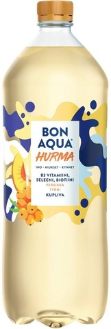 Bonaqua Hurma Persikka Ja Tyrni Kivennäisvesi Muovipullo 1,5 L