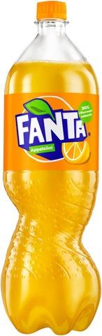 Fanta Appelsiini virvoitusjuoma muovipullo 1,5 L