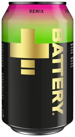 Battery Remix energiajuoma tölkki 0,33 L