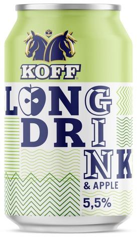 Koff Long Drink Omena 5,5% Tlk 0,33 L