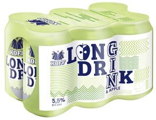 6-Pack Koff Long Drink Omena 5,5% Tlk 0,33 L