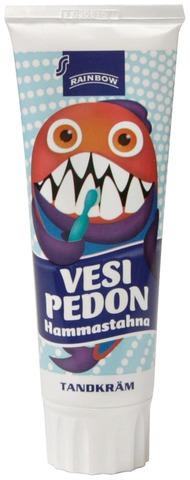 Rainbow 75ml Vesipedon hammastahna