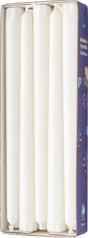 Rainbow Antiikkikynttilä 10Kpl Valkoinen