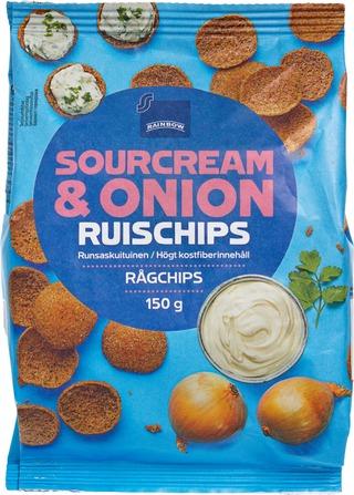 Rb Ruissipsi 150G Sour Cream &Onion