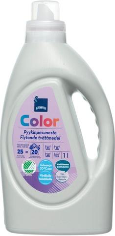 Rainbow Color Pyykinpesuneste Värillisille Tekstiileille 1L