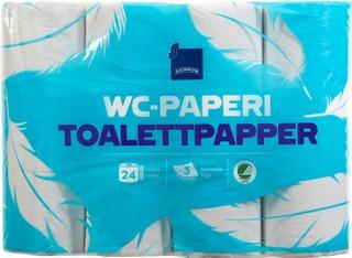Rainbow Wc-Paperi 24Rl Valkoinen