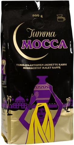Tumma Mocca 500G Suodatinjauhettu Kahvi