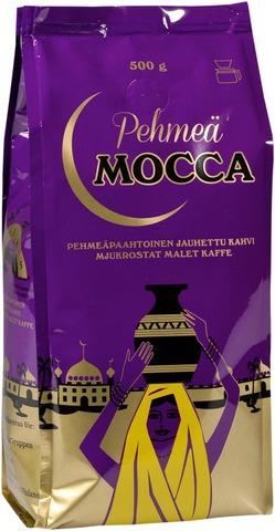 Pehmeä Mocca 500g suodatinjauhettu kahvi