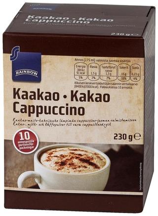 Rainbow 230G Kaakao Cappuccino 10 Annospussia