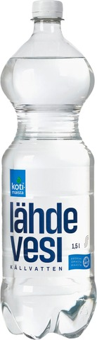 Kotimaista Lähdevesi 1,5L