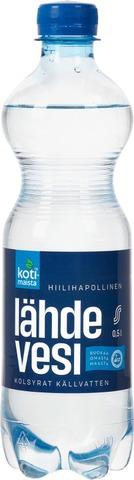 Kotimaista Hiilihapollinen Lähdevesi 0,5L