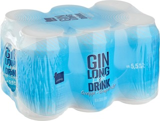 6 X Rainbow Kevyt Greippi Gin Lonkero 5,5% 0,33 L Tlk