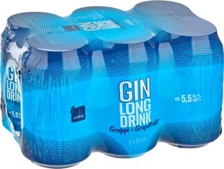6 X Rainbow Greippi Gin Lonkero 5,5% 0,33 L Tlk
