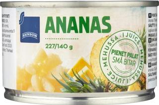 Pienet Ananaspalat Ananasmehussa