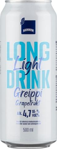 Rainbow Greippi Light 4,7% 0,5L Long Drink
