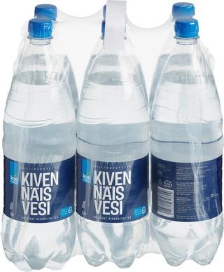 6 X Kotimaista Kevyesti Hiilihapotettu Kivennäisvesi 1,5 L Kmp
