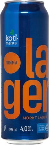 Kotimaista Tumma Lagerolut 4,0% 0,568 L Tlk