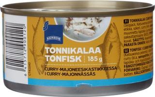 Tonnikalaa Curry-Majoneesikastikkeessa