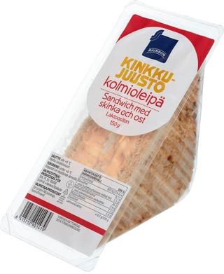 Kinkku-juusto kolmioleipä 150g