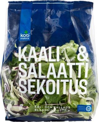 Kotimaista 180G Kaali- Ja Salaattisekoitus