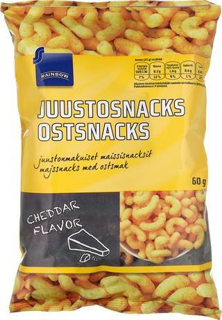 Juustosnacks 60 g